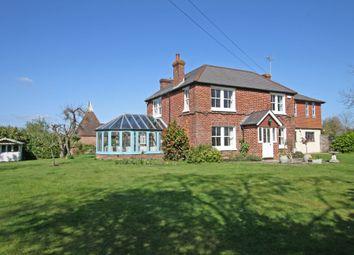 Thumbnail 4 bed detached house for sale in Burnt House Close, Rye Road, Sandhurst, Cranbrook