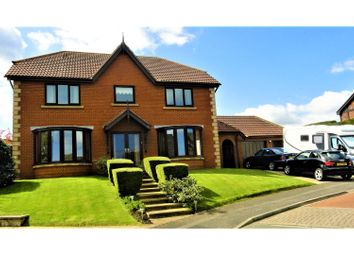 Thumbnail 4 bed detached house for sale in Pinewood Close, Clavering Estate