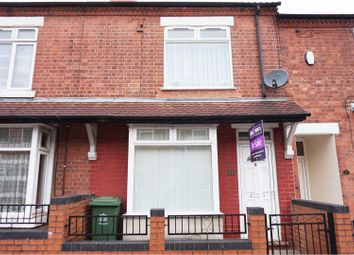 Thumbnail 2 bedroom terraced house for sale in Redcliffe Road, Mansfield