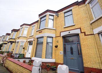 Thumbnail 4 bedroom terraced house to rent in Ferndale Avenue, Wallasey, Merseyside