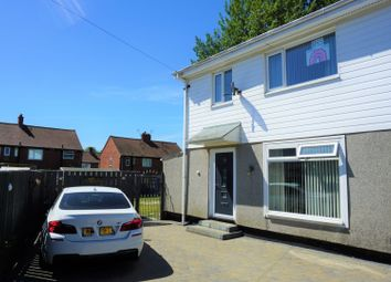 Thumbnail 3 bed semi-detached house for sale in Norfolk Gardens, Wallsend