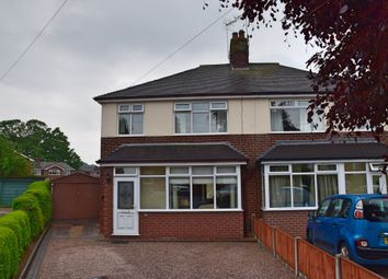 Thumbnail 3 bed semi-detached house for sale in Edward Avenue, Trentham, Stoke-On-Trent