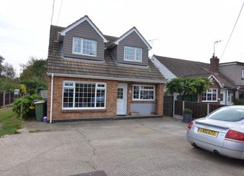 Thumbnail 3 bed detached house for sale in Ferry Road, Hullbridge, Hockley