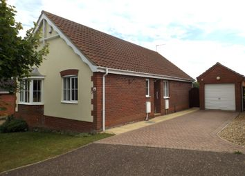 Thumbnail 3 bedroom detached bungalow for sale in John Lawrence Close, Beccles