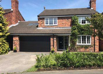 Thumbnail 4 bed detached house for sale in Church Meadows, Little Leigh, Northwich, Cheshire