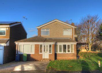 Thumbnail 4 bed detached house for sale in Midsomer Close, Moorside, Sunderland