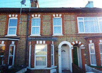 Thumbnail 3 bed terraced house for sale in Gladstone Road, Willesborough, Ashford, Kent