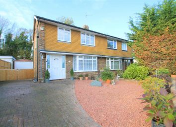Thumbnail 3 bed semi-detached house for sale in Rosemary Avenue, Steyning