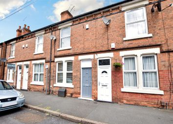 Thumbnail 2 bed terraced house for sale in Warwick Street, Nottingham