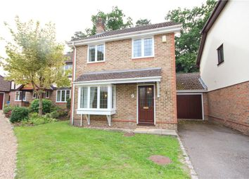 Thumbnail 3 bed detached house for sale in Moorlands Close, Fleet