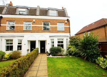 Thumbnail 4 bed end terrace house to rent in Castle Road, Weybridge, Surrey