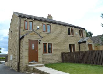 Thumbnail 3 bed semi-detached house to rent in Church Street, Emley, Huddersfield, West Yorkshire