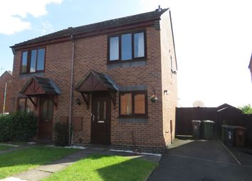 Thumbnail 2 bed semi-detached house for sale in Orchard Close, Rushall, Walsall