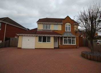 Thumbnail 4 bed detached house for sale in Kingsbury Close, Burton-On-Trent