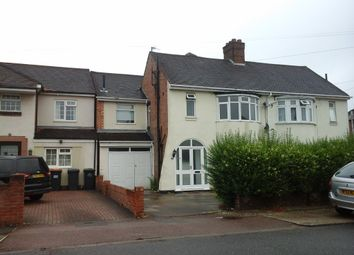 Thumbnail 4 bed semi-detached house to rent in Brackley Road, Bedford
