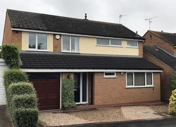 Thumbnail 4 bed detached house for sale in Wentworth Road, Fleckney, Leicester
