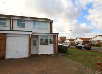 Thumbnail 3 bed terraced house for sale in Jellicoe Close, Eastbourne