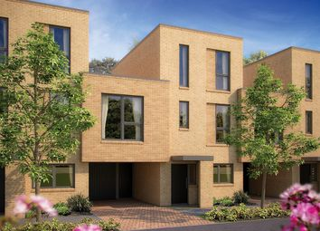 "Thumbnail 4 bed terraced house for sale in ""The Wolfson"" at Reed Close, Trumpington, Cambridge"