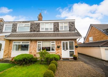 Thumbnail 3 bed semi-detached house for sale in Carlton Crescent, Beddau, Pontypridd