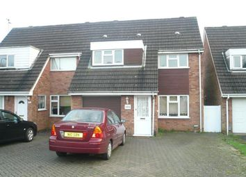 Thumbnail 3 bed semi-detached house to rent in Patrick Road, Corby