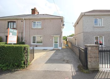 Thumbnail 3 bed semi-detached house for sale in Glanyrafon Road, Pencoed, Bridgend.