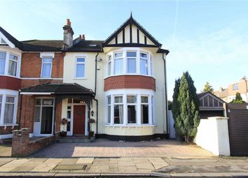 Thumbnail 4 bed semi-detached house for sale in Woodstock Gardens, Goodmayes, Essex