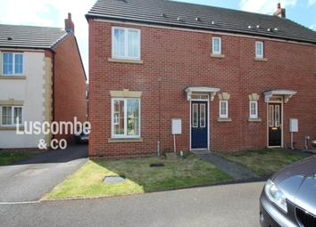 Thumbnail 3 bed semi-detached house to rent in Buccaneer Close, Coedkernew, Newport