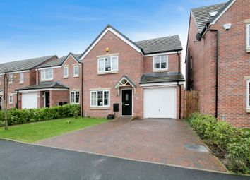 Thumbnail 4 bed detached house for sale in Wayfarers Way, Rochdale