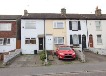 Thumbnail 2 bed terraced house for sale in Gillingham Road, Gillingham, Kent.