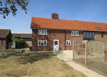 Thumbnail 3 bed barn conversion to rent in Snakes Lane, Topcroft, Bungay