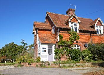 Thumbnail 2 bed semi-detached house for sale in Conghurst Lane, Hawkhurst, Cranbrook