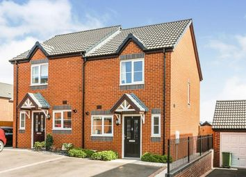Thumbnail 2 bed semi-detached house for sale in Chalkhill Place, Leamington, Warwickshire, England