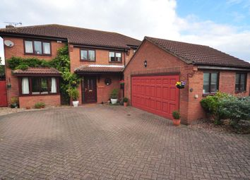 Thumbnail 4 bed detached house for sale in Cedar Close, Scotter, Gainsborough, Lincolnshire