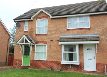 Thumbnail 2 bed semi-detached house for sale in Attlee Close, Lutterworth