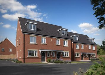 "Thumbnail 4 bed terraced house for sale in ""The Leicester "" at Brookers Hill, Shinfield, Reading"