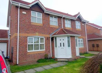 Thumbnail 3 bed semi-detached house for sale in Sylvias Close, Amble, Morpeth