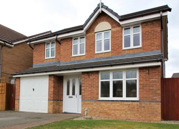 Thumbnail 4 bed detached house for sale in Lune Road, Platt Bridge, Wigan
