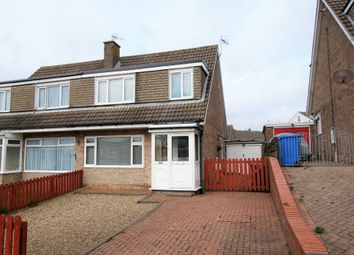 Thumbnail 3 bed semi-detached house to rent in Eastway, Eastfield, Scarborough
