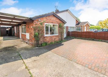 Thumbnail 3 bed semi-detached bungalow for sale in Clare Road, Hartford, Huntingdon