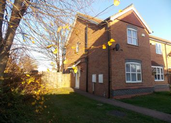 Thumbnail 2 bed end terrace house for sale in Bramble Close, Grimsby