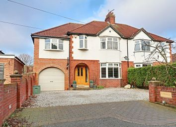 Thumbnail 4 bed semi-detached house for sale in Chantry Way, Swanland, North Ferriby