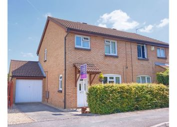 Thumbnail 3 bed semi-detached house for sale in Tamworth Drive, Swindon