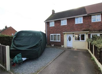 Thumbnail 3 bedroom end terrace house for sale in Piercy Avenue, Marchwiel, Wrexham