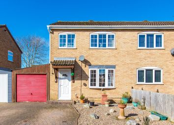 Thumbnail 3 bed semi-detached house for sale in Whittam Close, Raunds, Wellingborough
