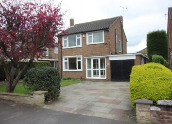 Thumbnail 3 bed detached house to rent in Shaftesbury Avenue, Timperley