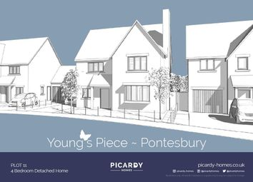 Thumbnail 4 bed detached house for sale in Plot 11 Young's Piece, Pontesbury, Shrewsbury