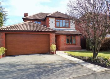 Thumbnail 4 bed detached house for sale in Holland House Road, Walton Le Dale, Preston