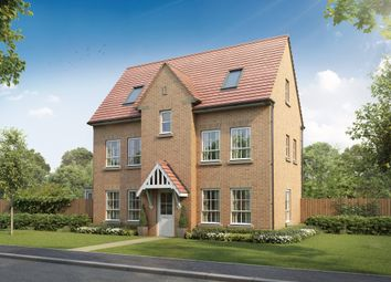 "Thumbnail 4 bedroom detached house for sale in ""Hexham"" at Beggars Lane, Leicester Forest East, Leicester"