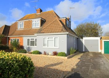 Thumbnail 3 bed semi-detached bungalow for sale in Bolsover Road, Goring-By-Sea, Worthing