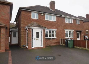 Thumbnail 3 bed semi-detached house to rent in Poplar Avenue, Tividale